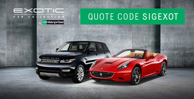 Renting An Exotic Car From Enterprise